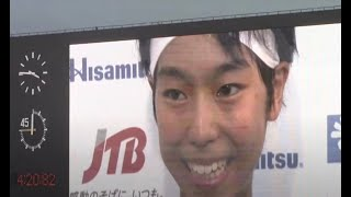 2014山梨インターハイ陸上 女子1500m決勝 倉岡奈々選手優勝