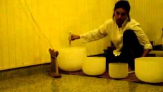 Crystal Bowls Sacred Dance - Devi Dhyani Sufi Dervish Whirling