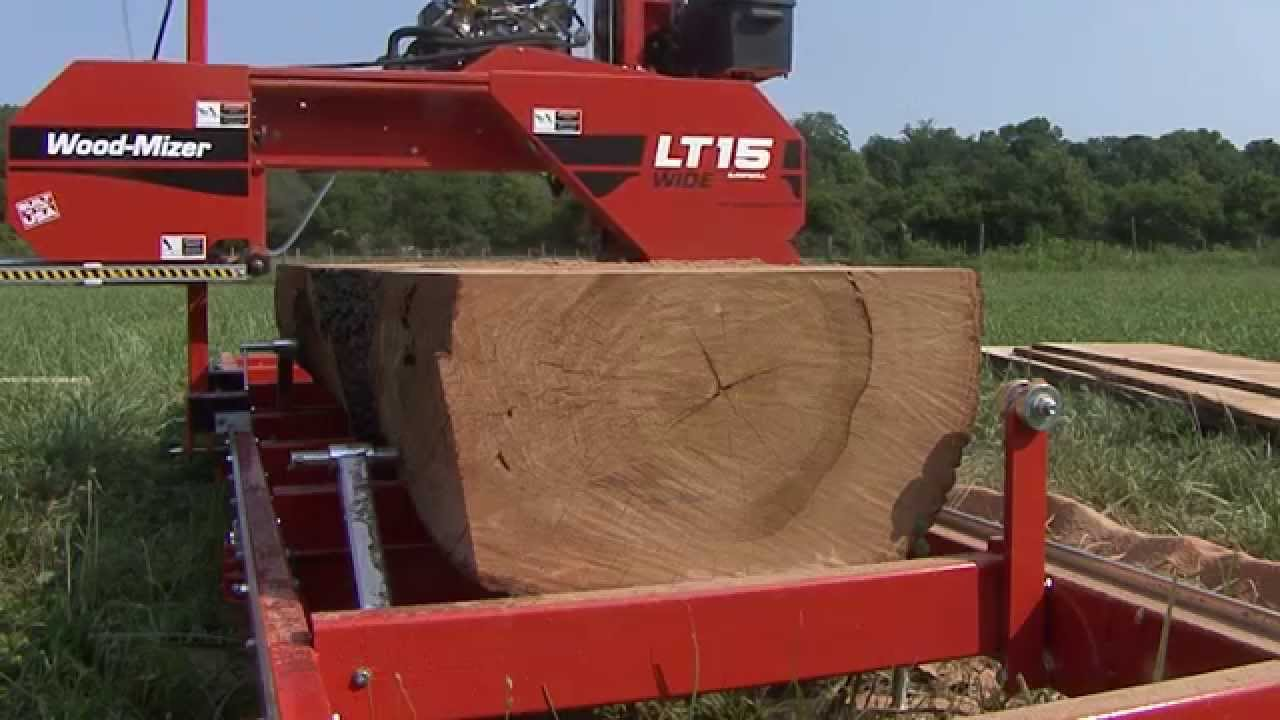 Woodmizer Sawmill For Sale >> Lt15wide Portable Sawmill
