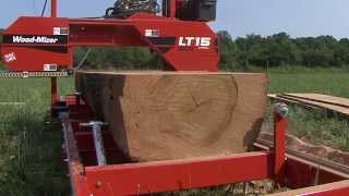 Wood-mizer Lt15wide Sawmill - Start Sawing Your Own Lumber