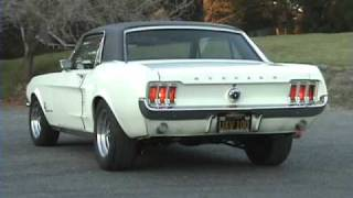 1967 Mustang with Flowmaster Exhaust