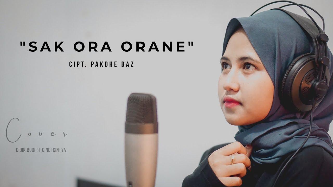 Sak ora orane - Pakdhe Baz Cover Cindi Cintya Dewi