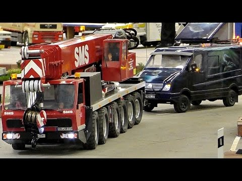 GREATEST RC 1:8 SCALE MODEL TRUCK COLLECTION BEST RC TRUCKS / Intermodellbau Dortmund 2016