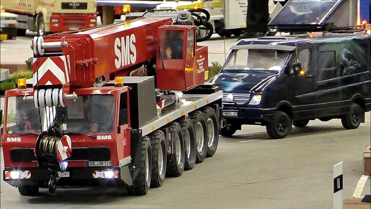 greatest rc 1 8 scale model truck collection best rc trucks intermodellbau dortmund 2016 youtube. Black Bedroom Furniture Sets. Home Design Ideas