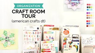 Budget Craft Room Tour (Organization Tips & Ideas)