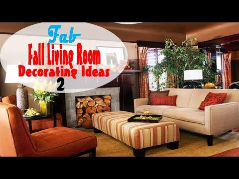 2017 Fall Living Room Decorating Ideas - Part 2