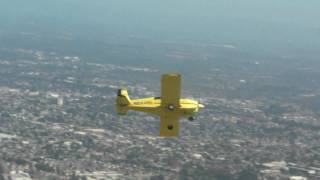 formation flight with grumman AA1 part2 (shooting film air to air)