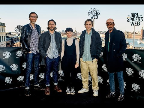 """""""The Girl In The Spider's Web"""" Wraps Principal Photography In Stockholm With Photocall"""