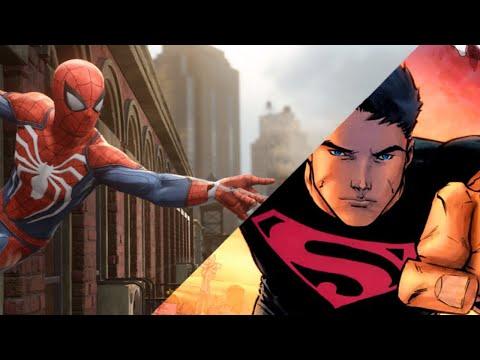 Spiderman vs Superboy | EPIC VERSUS