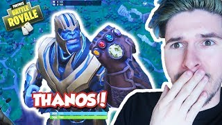 BECOMING THANOS in NEW INFINITY GAUNTLET LTM! (Fortnite Battle Royale)