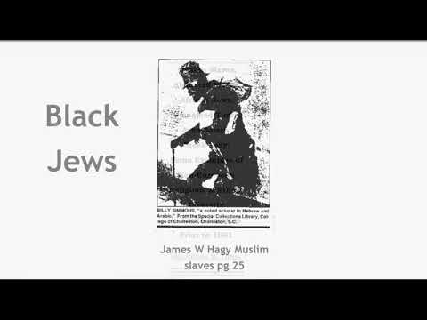 "African slaves who knew they were ""Jews"""