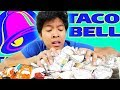 I Try Everything On The Taco Bell Menu!