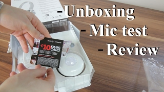 Creative Hitz MA2300 headset unboxing, review + mic test (RU)