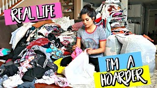 GETTING RID OF ALL MY CLOTHES!!! CLOSET PURGE!