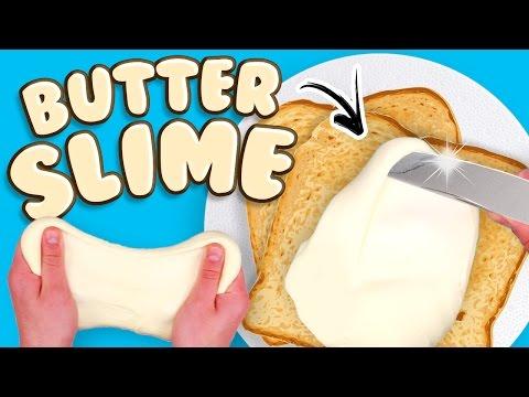 FACCIAMO IL BUTTER SLIME!! (Fluffy Slime Fai da te)