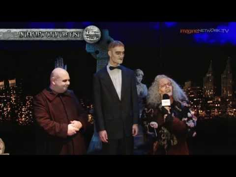 Interview with Addams Family Cast  Uncle Fester, Lurch, Grandma Part 1