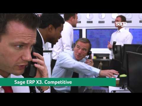 SAGE ERP X3   Software Dubai   UAE   Middle East