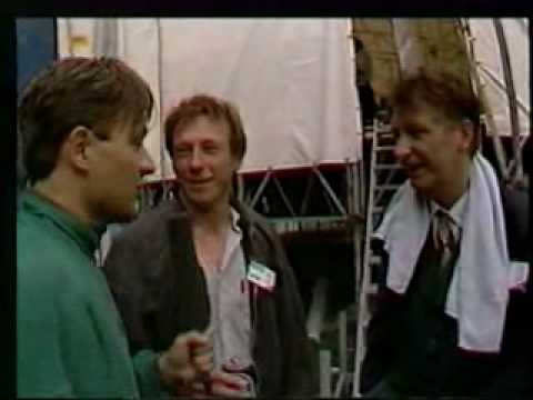 The Nits - Interview op Parkpop 1988 door Bart Peeters (BRT)