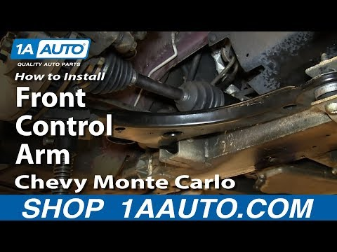 How to Replace Control Arm & Ball Joint 00-07 Chevy Monte Carlo