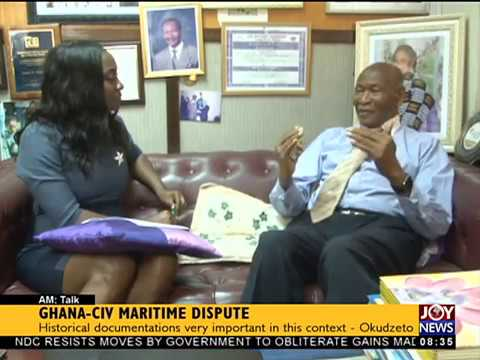 Ghana CIV Maritime Dispute   AM Show on JoyNews 22 9 17