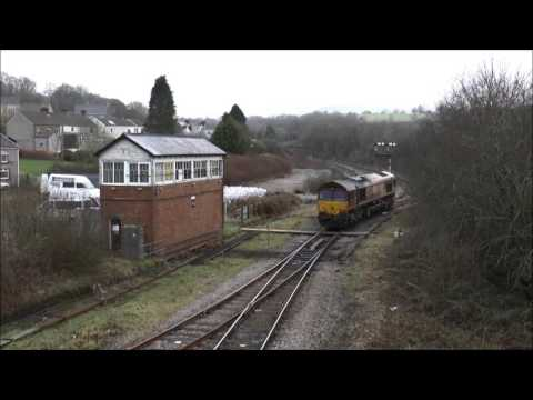 Tondu Spectacular; 60074/66004/60001 on heavy freight diversions