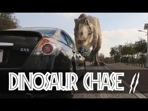 T-Rex Chase - Part 2 - Jurassic World Fan Movie - Ruslar.Biz