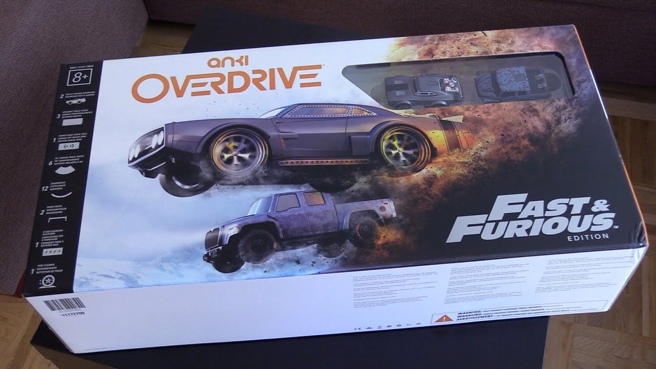 anki overdrive fast furious edition testbericht youtube. Black Bedroom Furniture Sets. Home Design Ideas