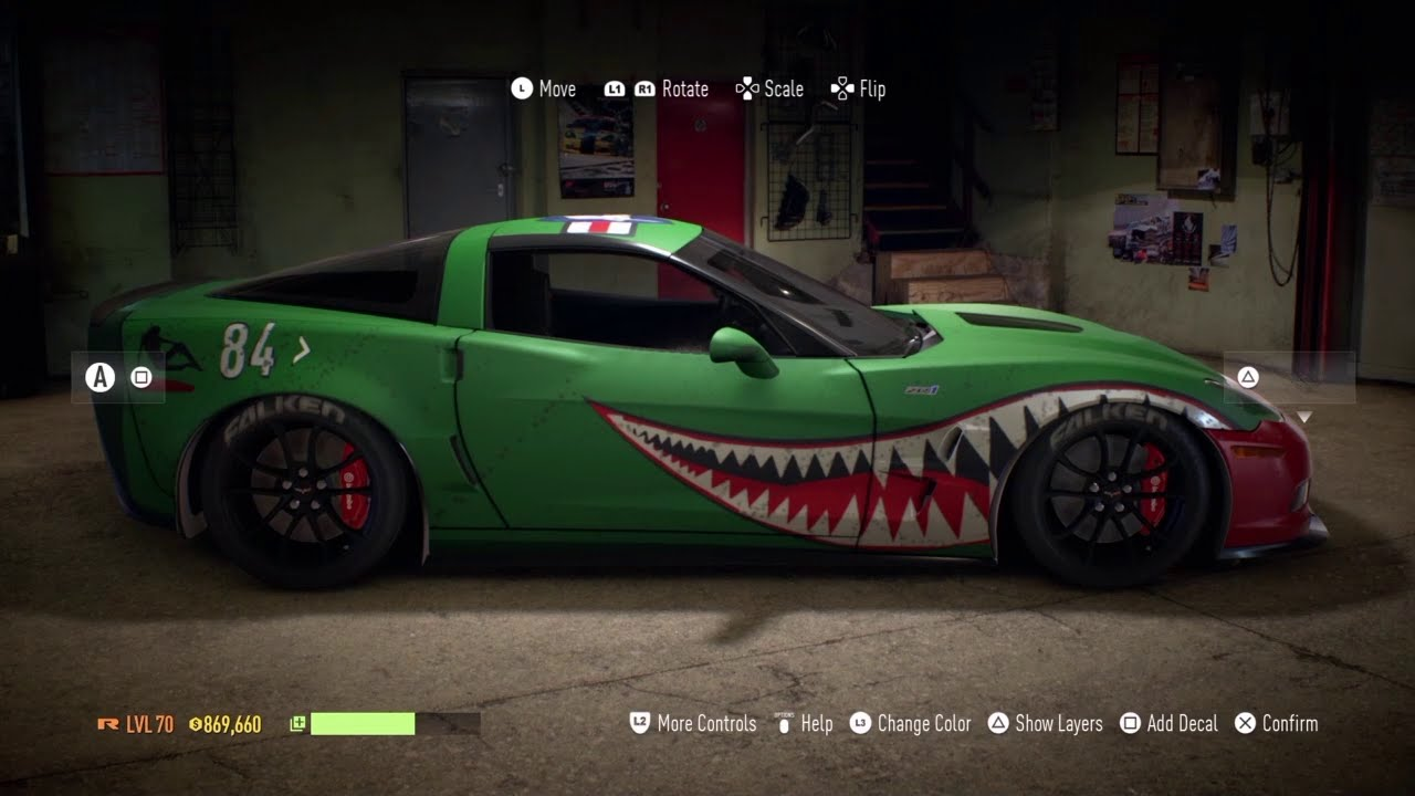 Warbird Style Shark Teeth Tutorial Nfs 2015 Youtube