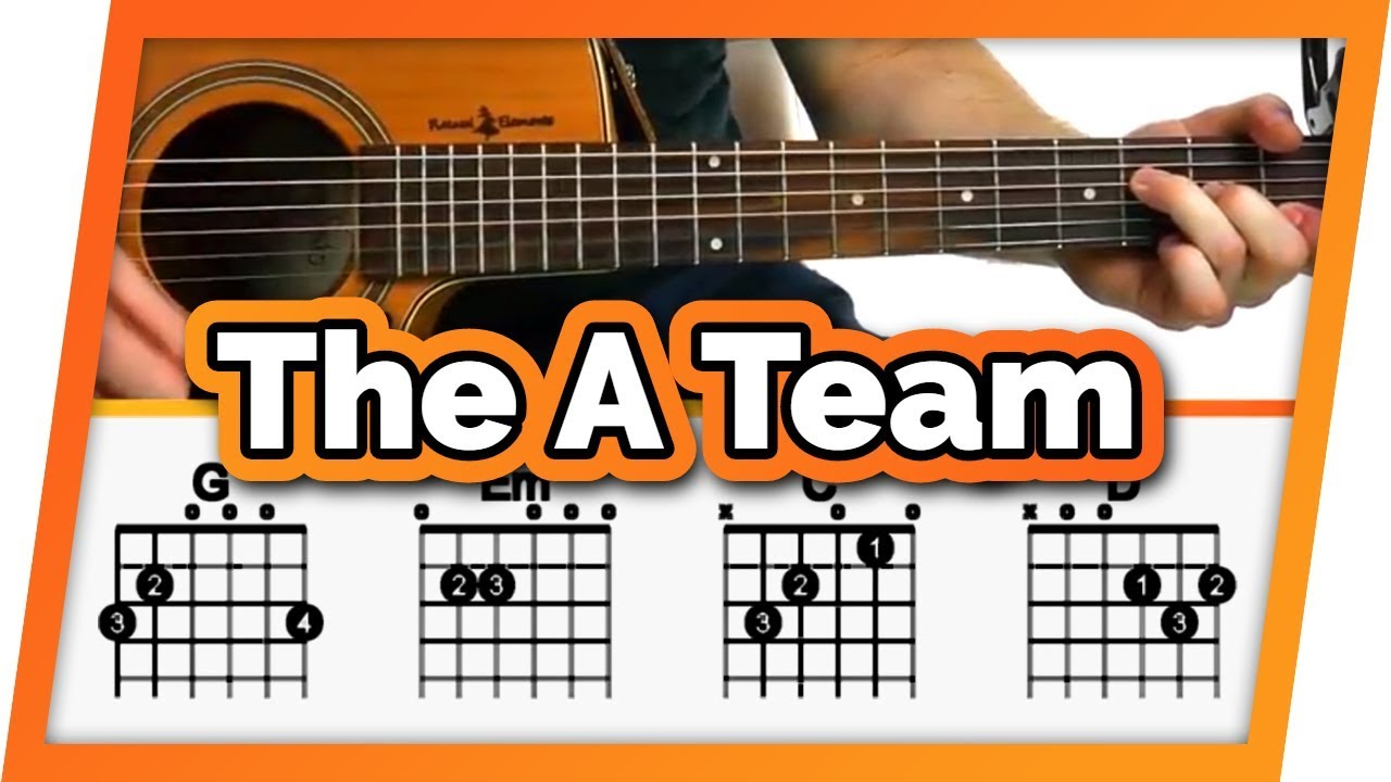 The A Team Ed Sheeran Guitar Tutorial Lesson For Beginners