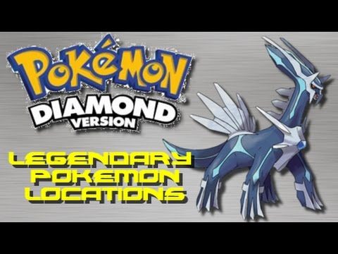 Pokemon Diamond: ALL Legendary Pokemon Locations