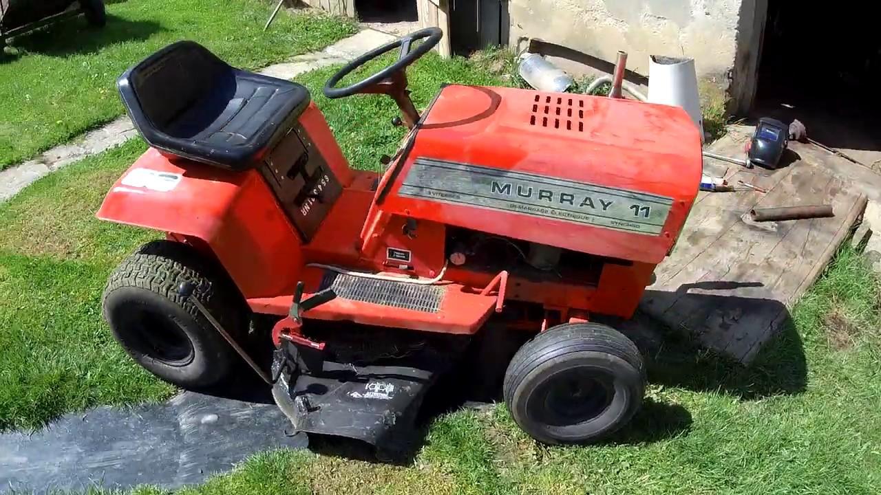 Murray 11 - 40 Years Old Mower restoration! 1980r