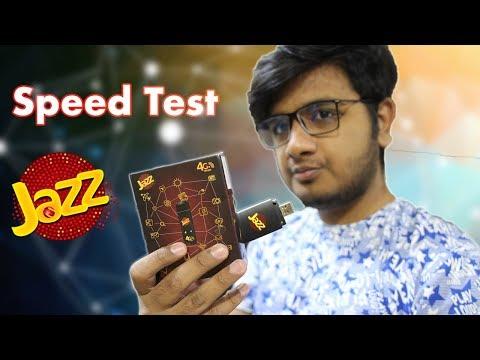 Jazz Super 4G Speed Test + Review!