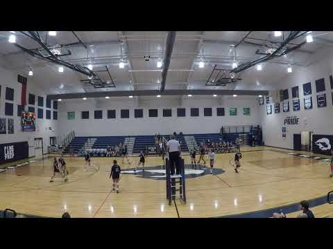 Statesville Christian School vs Pine Lake Preparatory. Alessandra Sendler OH Jersey #16