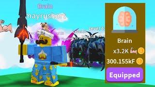 I Unlocked New Max Class Brain! - Saber Simulator Roblox