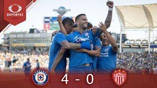 Cruz Azul golea al Necaxa | Cruz Azul 4-0 Necaxa | Supercopa MX | Televisa Deportes