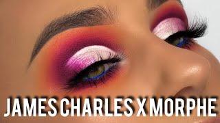 JAMES CHARLES X MORPHE ARTISTRY PALETTE TUTORIAL & REVIEW | REBECCA CAPEL MAKEUP