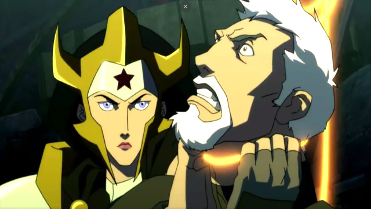 Download Wonder Woman Kills Sgt. MakeFlower - Justice League: The Flashpoint Paradox