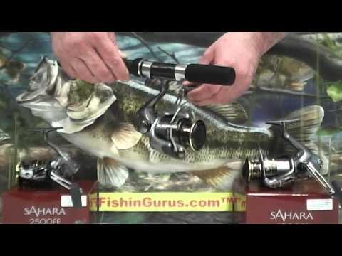 Shimano Sahara FE Spinning Reel Review By FishinGurus Fishing Reels Tips Fishing Store Chicago