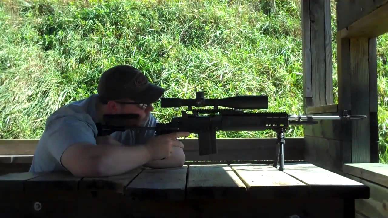 Range time with my M39 EMR