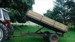 FERGUSON FARM TIPPING TRAILER 10X6 FOR SALE £650 www.catlowdycarriages.com