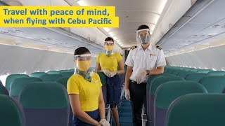 Travel with Peace of Mind with Cebu Pacific's increased safety and disinfection measures
