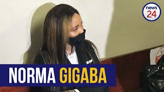 WATCH | Norma Gigaba arrives at the Hatfield Magistrate's Court