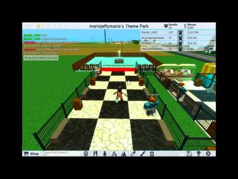 how to get builder This Game Theme Park Tycoon 2