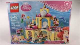 Lego Disney Princess Ariels Undersea Palace Set 41063 Stop Motion Buildhd