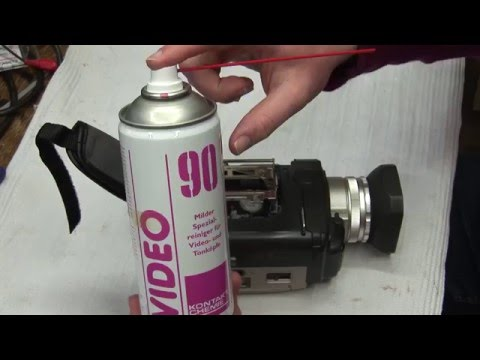 How to repair a MiniDV camcorder that doesn't record or play