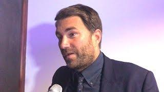 EDDIE HEARN - PRESSURE WAS ON WHYTE: WBC mandatory, Joshua-Ruiz Numbers, Chisora and more...