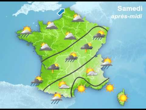 M t o france youtube - Meteo a la carte france 3 ...