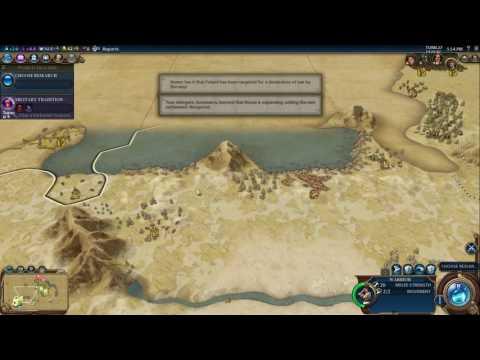 Civilization VI: Australia, Deity, Cultural Victory #01