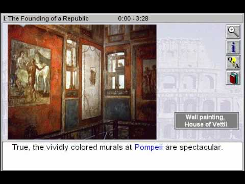 History of Art: Ancient Rome: The Founding of a Roman Republic