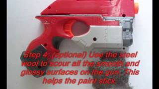 How To Modify a Nerf Scout 1X-3 .